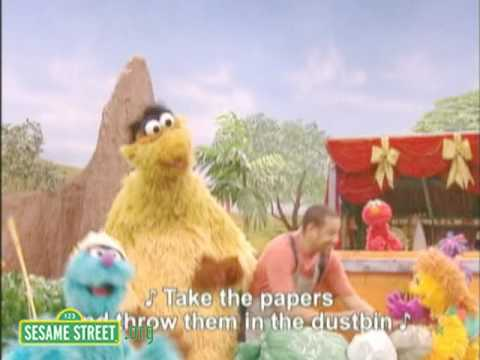 Takalani Sesame (South Africa): Pollution Song