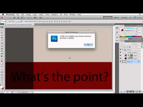 Photoshop: Entering and selecting point type | lynda.com