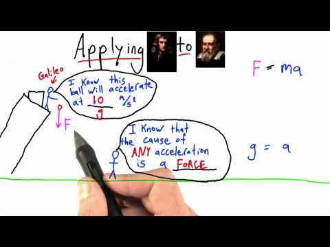 Reasoning about Gravity - Intro to Physics - What causes motion - Udacity