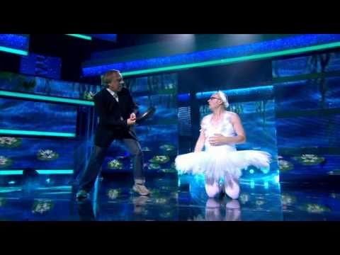 Let's Dance For Comic Relief:  Ade Edmondson takes on the routine of The Dying Swan