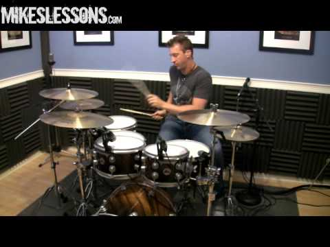 "DRUM LESSON with Mike Johnston ""You Gotta Practice This"""