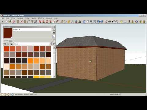 Google SketchUp Basics for K-12 Education - Tutorial 5