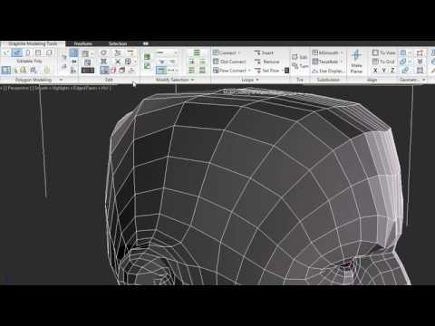Graphite Modeling Tools — 3ds Max 2010 New Features