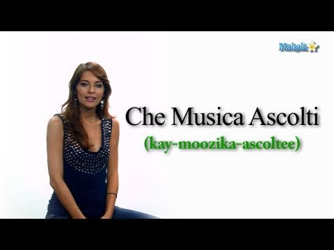 How to Say What Music Do You Listen to in Italian