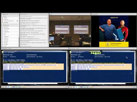"""Part 6 The """"Scripting Guy"""" Ed Wilson - from AZPosh - Dec 7, 2011 at Interface Technical Training."""