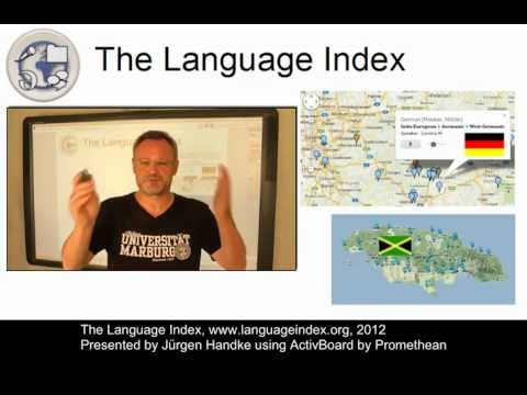 The Language Index - A UMR/CLARIN-D Project