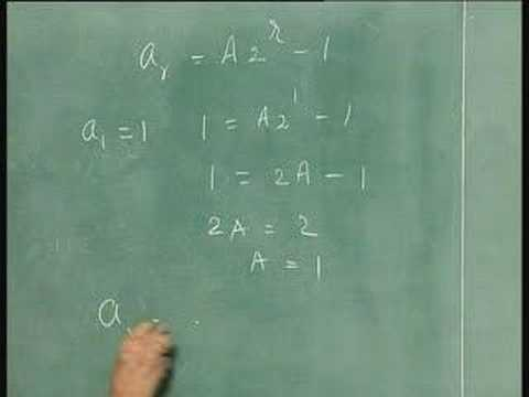 Lecture 34-Recurrence Relations(contd..)