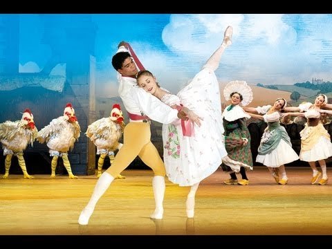La Fille mal gardée Royal Ballet trailer 2012