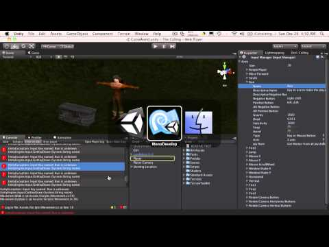 95. Unity3d Tutorial - Player Movement 2.0 Part 4