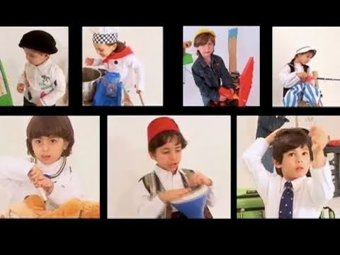 "Arabic Numbers Song ""Khali (My Uncle) has 7 Boys"" Children Singing Arabic Numbers and Counting"