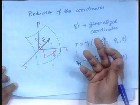 Lecture - 3 Derivation of the Lagrangian Equation