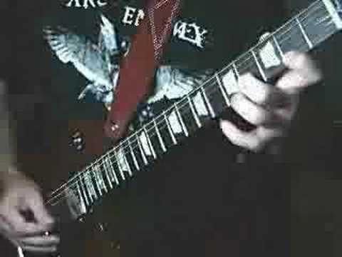 "Frantic Metal Guitar Solo! ""Frantic Freeze"""