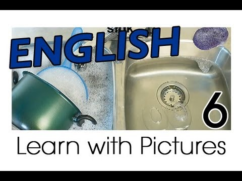 Learn English - English Kitchen Vocabulary