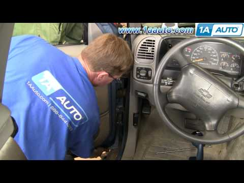 How To Install Replace Door Hinge Pin Chevy GMC Pickup Truck SUV - 1AAuto.com