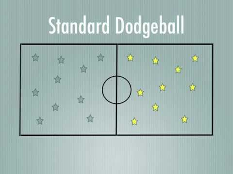 Physical Education Games - Standard Dodgeball