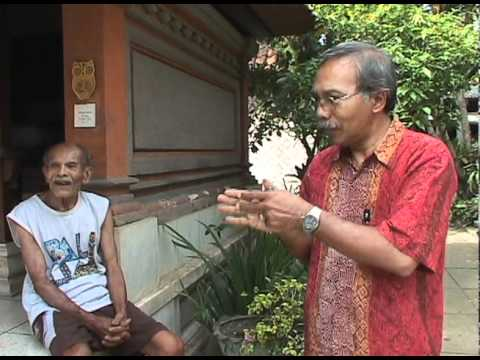 Repairing Sacred Balinese Masks