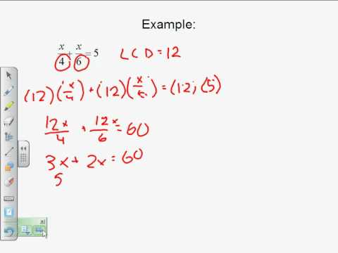 Solving Equations with Fractions by Angela MST
