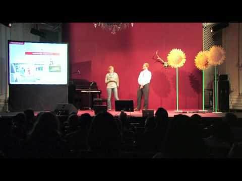 TEDxSalzburg - Annika Serfass & David Schubert - The Wheel of Future