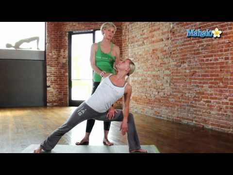 Yoga for Your Shoulders - Side-Angle Pose with a Twist