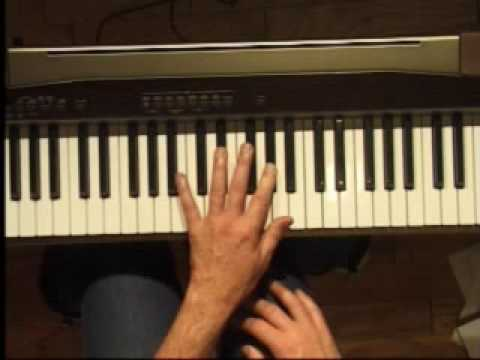 Piano Lesson - How to Play the Ab major scale (left hand)