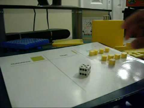 Using Base 10 Blocks Lesson 4Race to 100