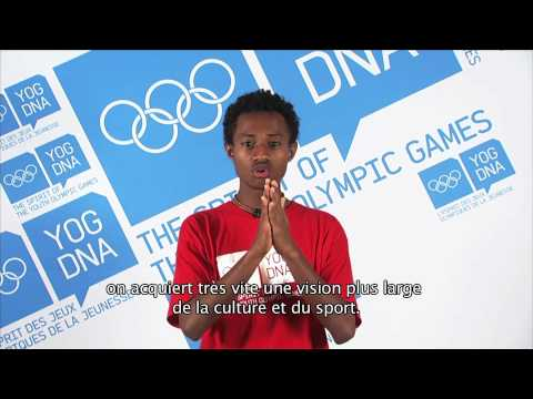 Young Ambassador - Papua New Guinea - Shannon Andrew - Singapore 2010 Youth Olympic Games