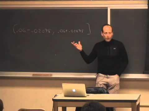 Saylor BUS204: Philip Stark Statistics 21 - Lecture 22