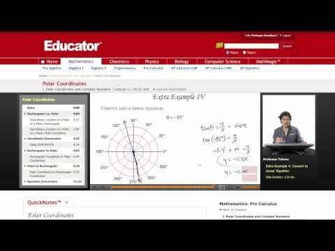 Pre-Calculus: Polar Coordinates