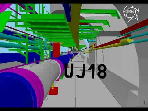 Virtual Visit of the LHC in 3D