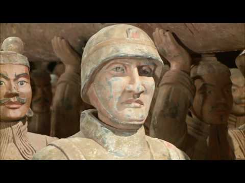 Newly Cast Terra Cotta Warriors Look to More Peaceful Future