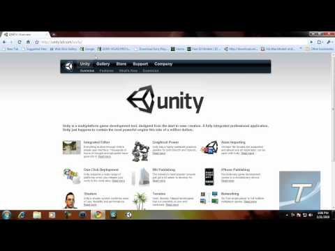 Unity 3D - Create Pro. 3D Games For Free!