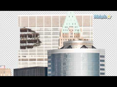 Photoshop Tutorial - Destroy City - Erase and Replace