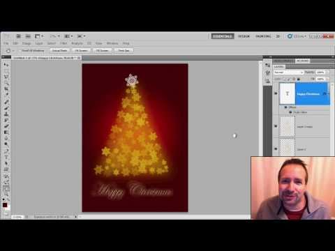 The 10 minute Emergency Christmas Card Photoshop Technique