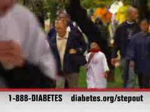 PSA: Step Out: Walk to Fight Diabetes (30 sec) - small video