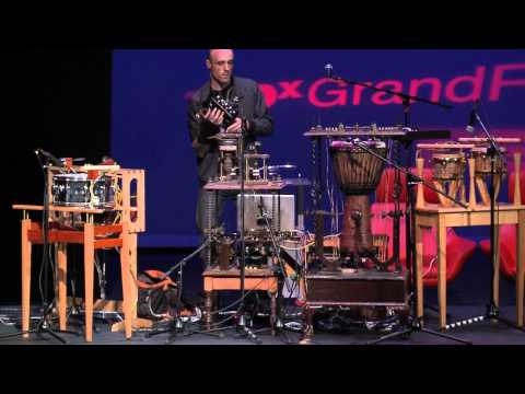 "TEDxGrandRapids - Patrick Flanagan - Musical Performance - ""Breakups"""