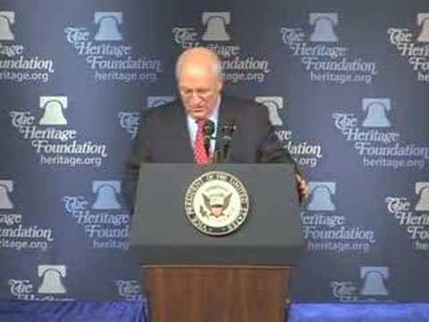 Vice President Cheney Calls Himself Darth Vader