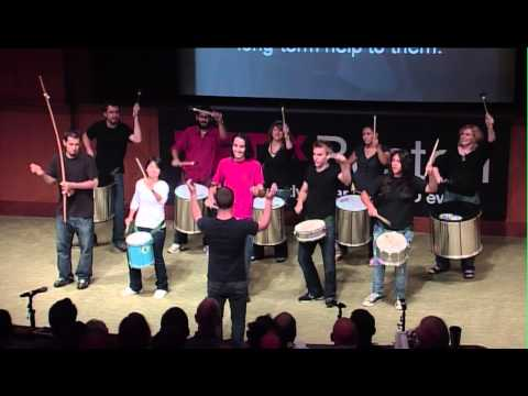 TEDxBoston -Marcus Santos Group - New Concepts in Percussion