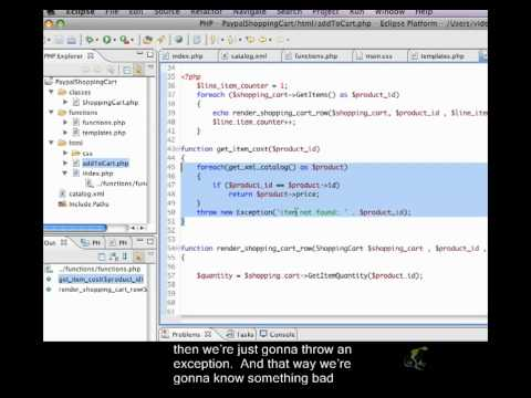 PHP Shopping Cart & Paypal Closed Captioned - Calculating Cost