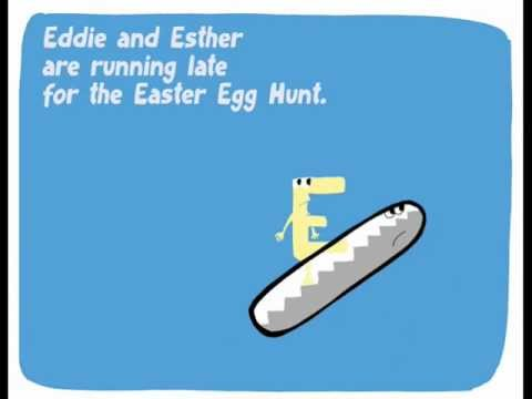 The alphabet for kids. Letter E: Eddie's Easter