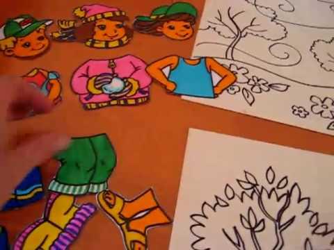 Preschool - Science. Seasons game