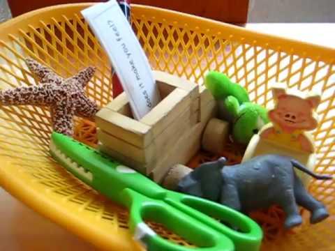Preschool Language. Object game