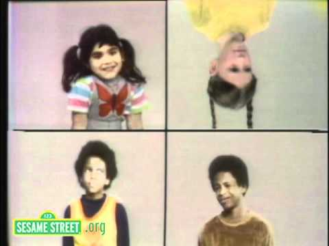 Sesame Street: Upside Down & Right Side Up
