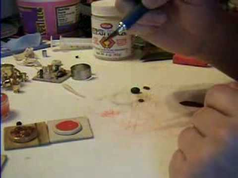 Pizza How to Make from Polymer Clay by Garden of Imagination