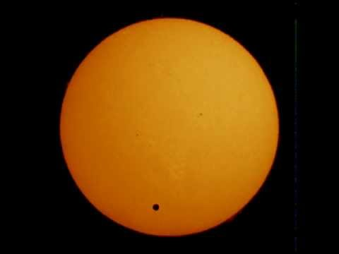 Venus Transit seen from Canberra, Australia (part 1)