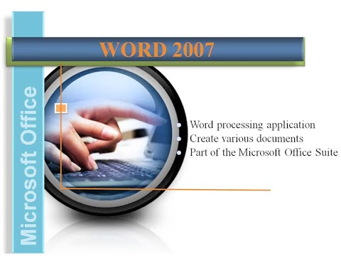 Word 2007: Overview