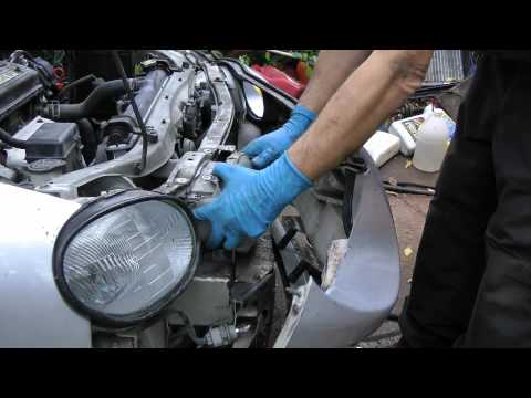 Replacing A Broken Headlight Assembly