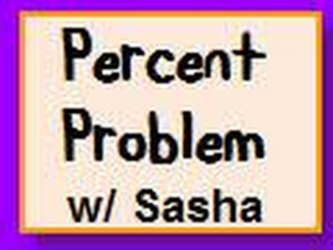 Solving Percent Problems with Proportion