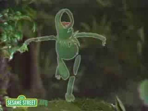 Sesame Street: Kermit Sings Disco Frog