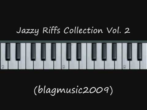 Piano Lesson - 10 Jazzy Riffs Collection 2 of 3 (On a One Drop Reggae Beat)