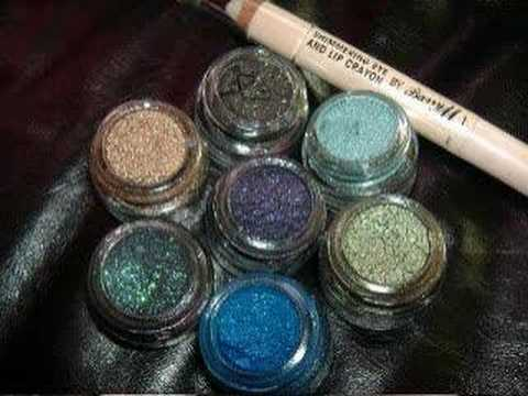 NEW Stunning Barry M fine glitter dust swatches